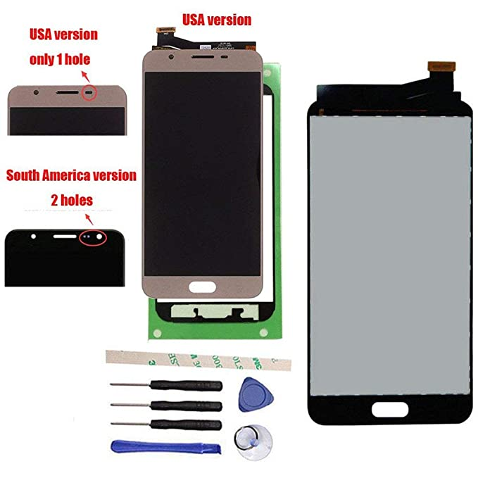 3f5b3a4c9 Draxlgon LCD Display Touch Screen Digitizer Assembly Replacement for Galaxy  J7 Prime G610 G6100 G610F SM