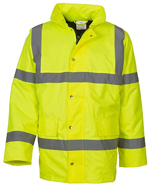 HVS461 HVS462 Yoko Hi Vis Visibility Workwear Safety Over Trousers Waterproof