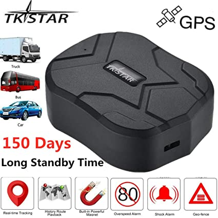 Amazon.com: TKSTAR Real Time Vehicle GPS Tracker,150 Day ...