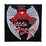 Little Angels Demon Mascot UK Band Hard Rock Music Woven Sew On Applique Patch