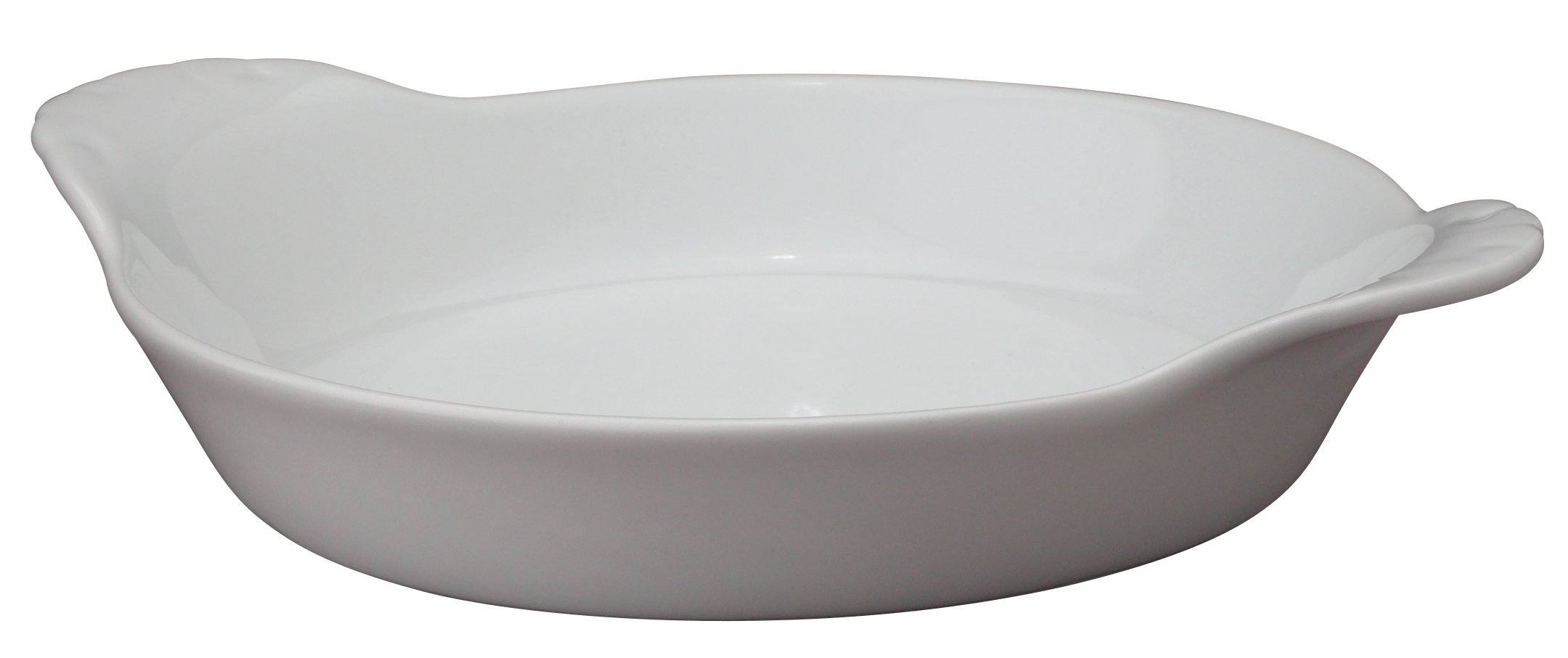 HIC Round Au Gratin Baking Dishes, Porcelain, 4-Ounce, 5-Inch, Set of 6 by HIC Harold Import Co. (Image #1)