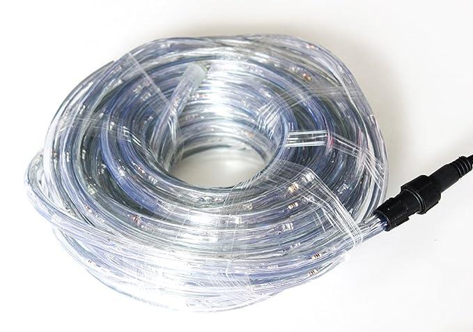 Bloomwin metri tubo di luci a led a energia solare con sensore
