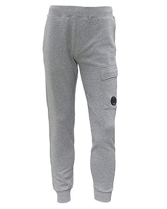C.P. Company - Pantalón de chándal para Hombre (Forro Polar) Gris ...