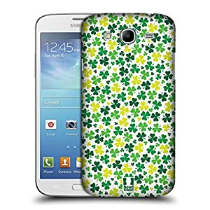 Head Case Designs Ditsy Shamrock Patterns Protective Snap-on Hard Back Case Cover for Samsung Galaxy Mega 5.8 I9150 I9152