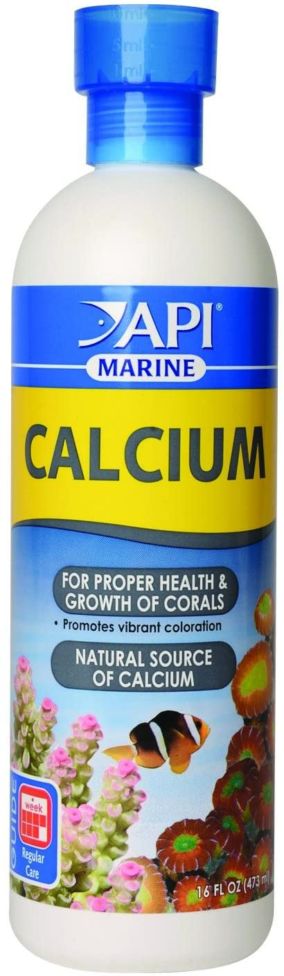 API MARINE CALCIUM Reef Aquarium Calcium Solution 16-Ounce Bottle