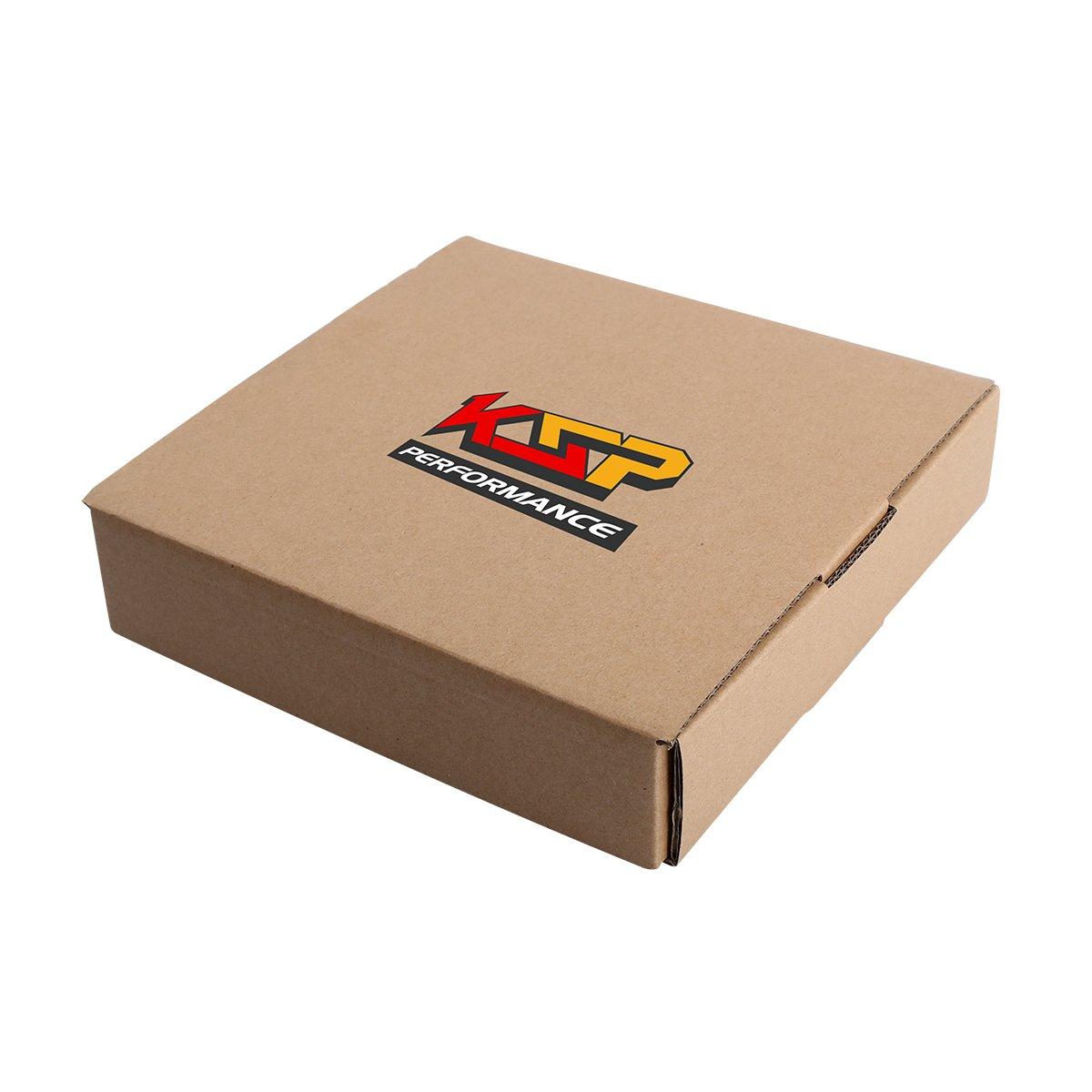 Black Acorn//Conical 6 Spline Duplex 1//2x20 Lug Nut Closed End Bulge Cone Seat 1.38 Tall with 2 keys Fit For 5 lugs Aftermarket Wheels 23 pcs KSP Wheel Lug Nuts 1//2-20