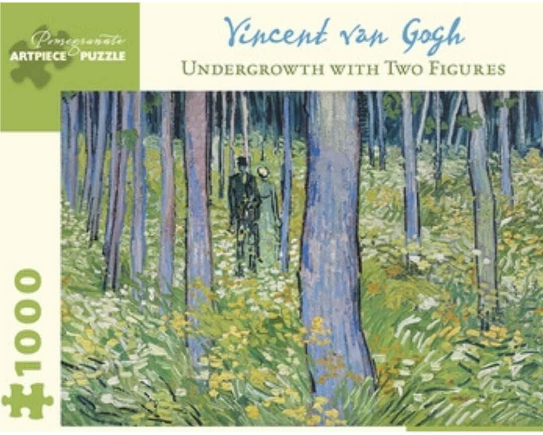 Amazon.com: Vincent Van Gogh Undergrowth
