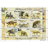 Guinea 19981P1 Sheetlet (Complete.Issue.) 1998 Prehistoric Animals (Stamps for Collectors) Amphibians / Reptiles / Dinosaurs