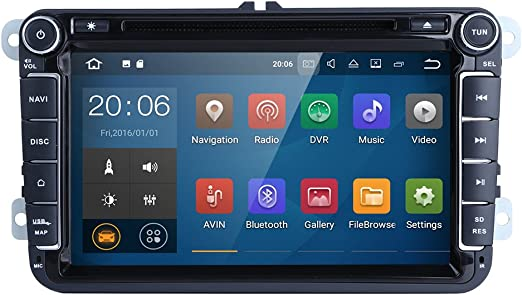 HIZPO - Reproductor de DVD para Coche WiFi Android 7.1.1, 8 ...