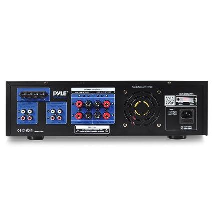 Amplificador Karaoke 300W con FM USB SD Bluetooth: Amazon.es: Electrónica