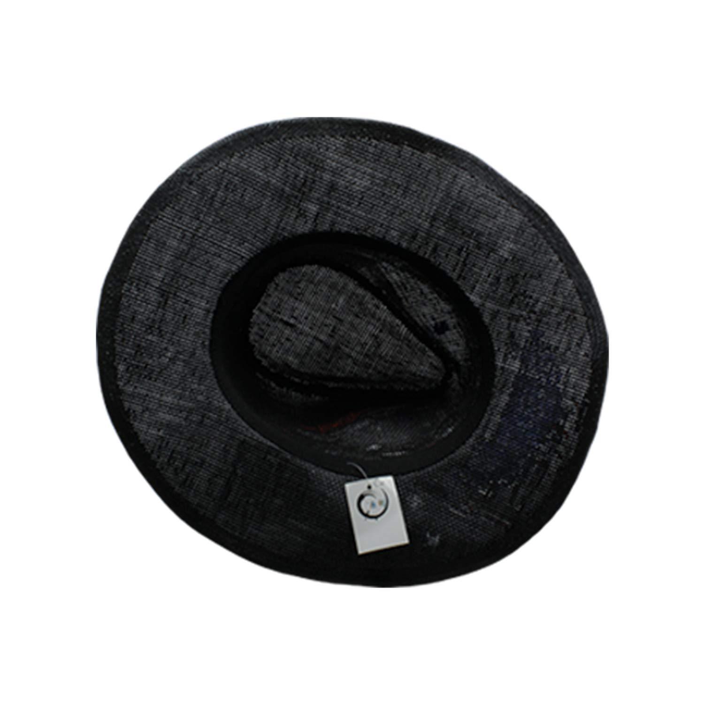 Top Brand Fashion Icon Men Hat Wide Brim Gentleman Fedoras Hat Summer 100/% Cotton Mens Hats