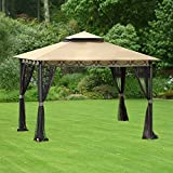 Garden Winds Replacement Canopy Top Cover for the Celeste Gazebo – RipLock 350 For Sale