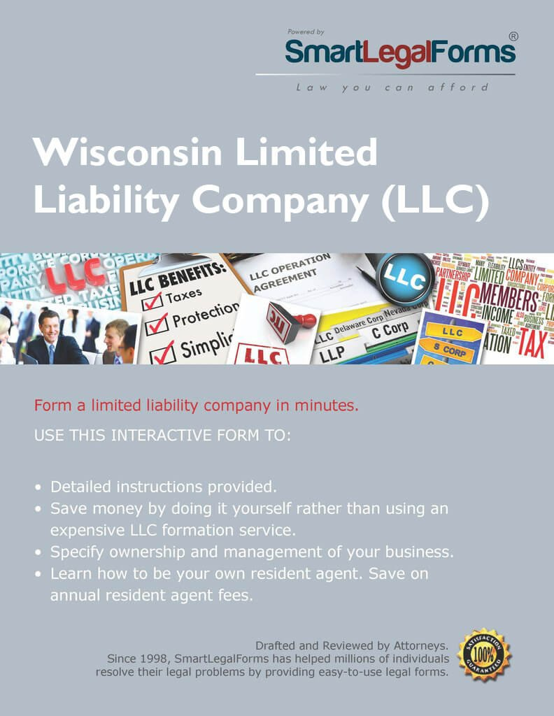 Articles of Organization (LLC) - WI [Instant Access] by SmartLegalForms, Inc.
