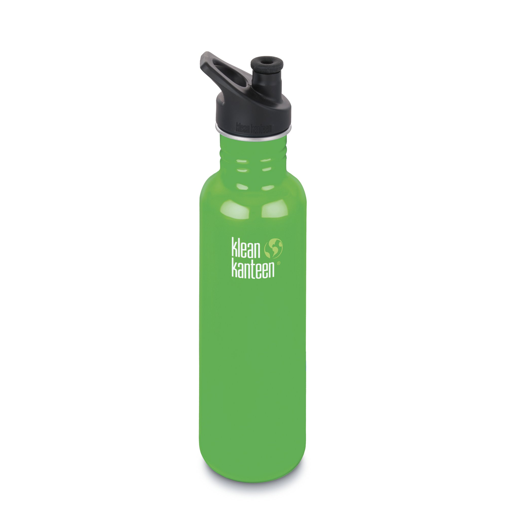 Klean Kanteen Classic Stainless Steel Bottle with Sport Cap, Organic Garden - 27oz