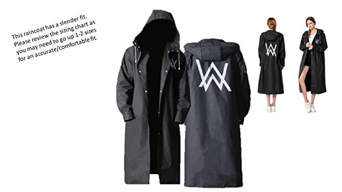 browse latest collections detailed pictures men/man Tresbon Products Alan Walker Waterproof Long Black Hood ...