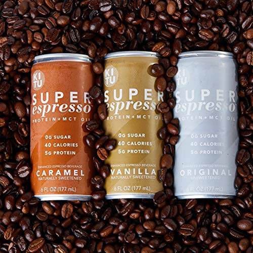 Kitu by SUNNIVA Original Super Espresso with Protein and MCT Oil, Keto Approved, 0g Sugar, 5g Protein, 40 Calories, 6 fl. oz, Pack of 12 by SUNNIVA SUPER COFFEE (Image #4)