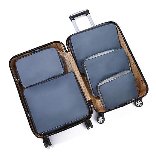 SYN 5 Bolsas organizadoras de Viaje para Ahorrar Espacio ...