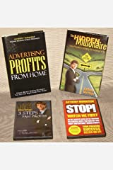 Set of Anthony Morrison Books and DVDs: Advertising Profits from Home, The Hidden Millionaire, # Steps to Fast Profits DVD, Stop Watch Me First! DVD (2008-2009) Hardcover
