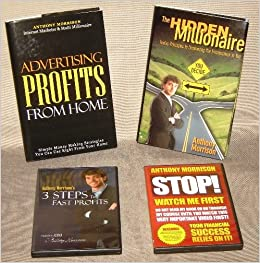 Set of Four Anthony Morrison Books and DVDs