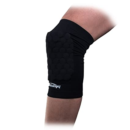 bc79ab78f8ea8 COOLOMG Pad Crashproof Antislip Basketball Leg Knee Short Sleeve Protector  Gear (1 Piece),