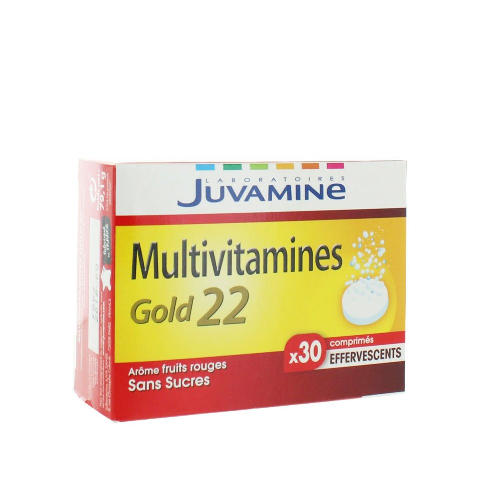 Amazon.com: JUVAMINE Multivitamines Gold 22 (30 comprimés): Health & Personal Care