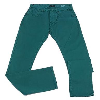 Armani 0927X Pantalone 5 Tasche uomo Jeans Green Trouser ...