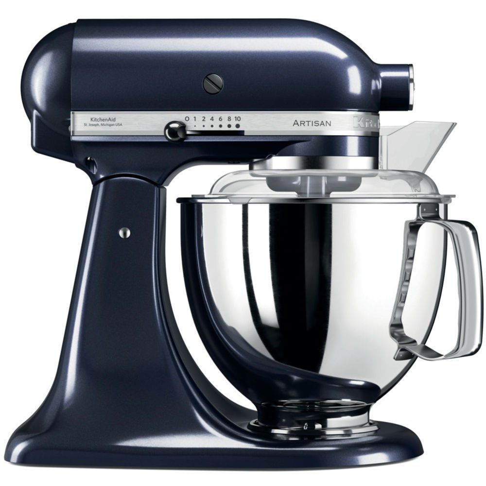 KitchenAid Artisan 5KSM175PSEUB 5 Qt.Stand Mixer Blueberry with TWO Bowls & Flex Edge Beater 220 VOLTS NOT FOR USA