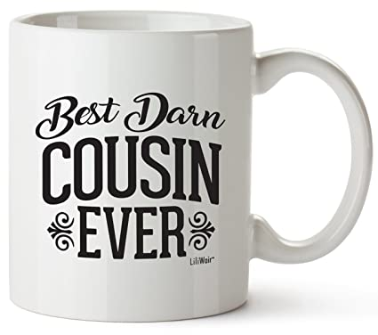 Cousin Gifts Funny Cousins Day Best Ever Mothers Fathers Birthday Coffee Mugs