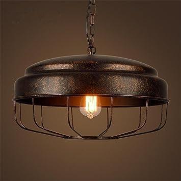 Lámparas de araña Lámpara de hierro colgante Pot cubierta de ...