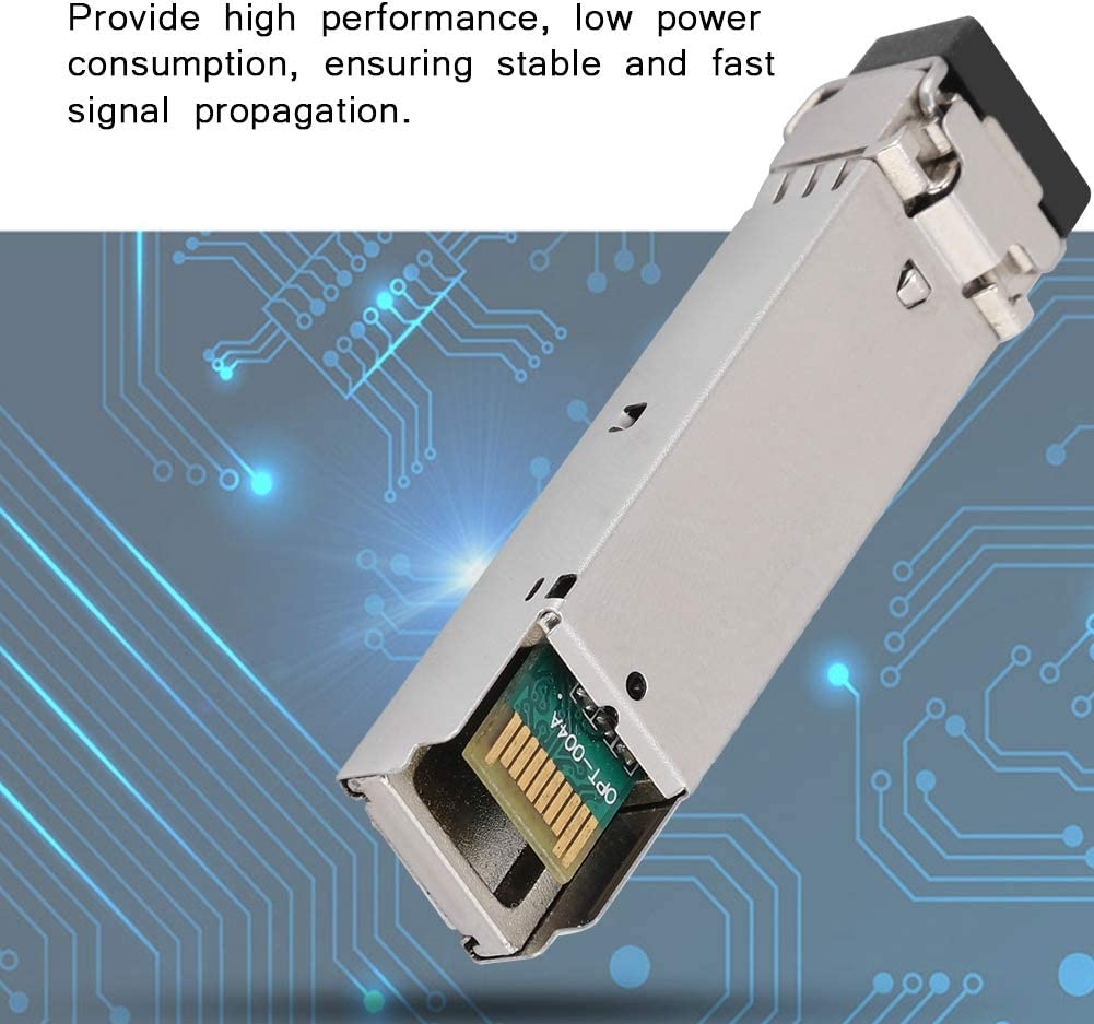 ASHATA SFP-GE-SX-MM1310-A 2KM Gigabit Multi-Mode Dual Fiber Transceiver Optical Module for Server,Network Card