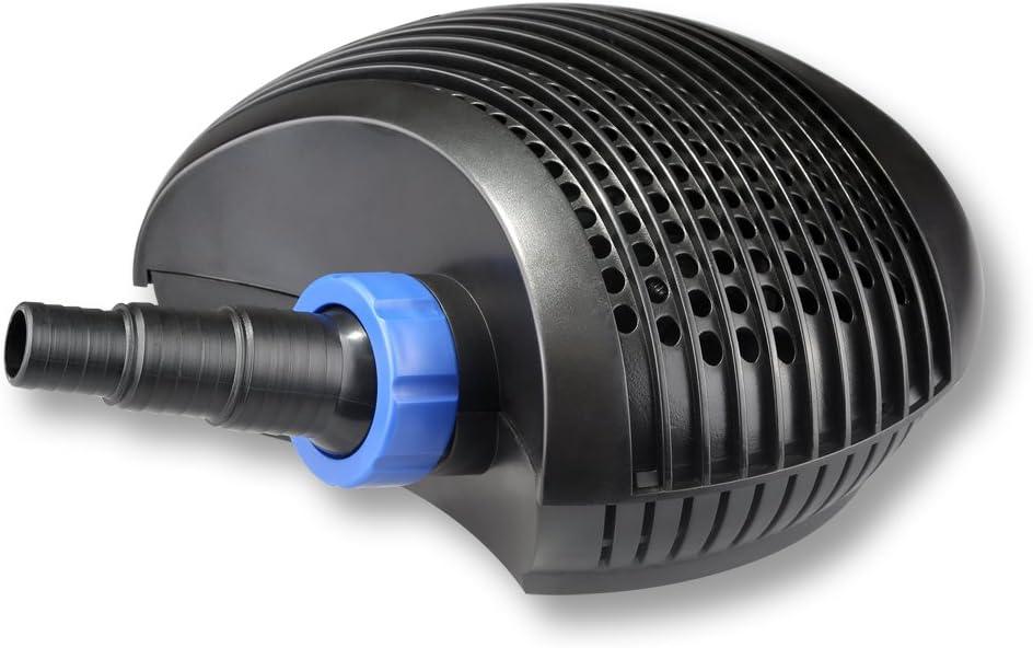 SunSun Kit de Filtration de Bassin pour 60000l avec 24W St/érilisateur et 40W /éco Pompe 25m Tuyau