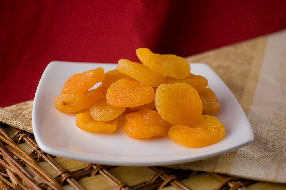 Dried Turkish Apricots (1 Pound Bag) - No Sugar added