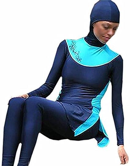 6a075a306f7e4 Muslim Swimwear U.R.Beautiful - New Modest Lady s Full Cover Beachwear  Islamic Swimsuit (Int