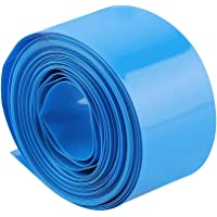 29.5MMΦ18.5MM Stabiele PVC-krimpkous, 5m stofdichte pvc-krimpfolie, blauw voor batterijcondensatoren 18650 18500…