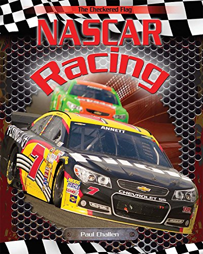 Nascar Coloring Book - Nascar Racing (The Checkered Flag)