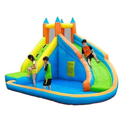 Castillos Hinchables Parque Inflable Para Niños En Casa ...