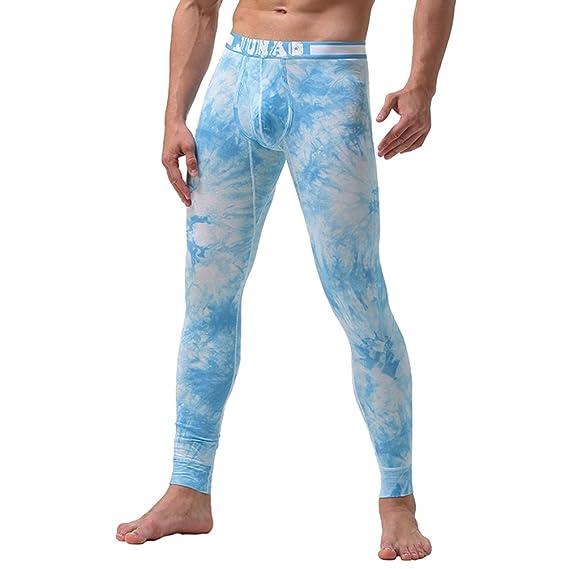 YiLianDa Hombre Pantalón Ropa Interior Térmica Para Hombre Calzoncillos Largos Pantalón Para El Invierno