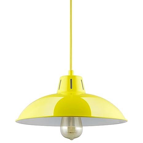 sunlite cf pd v y yellow vega residential ceiling pendant light