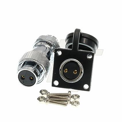 HangTon HP20 9 Pin Industrial Power Male Plug Female Panel Socket Waterproof Outdoor Connector