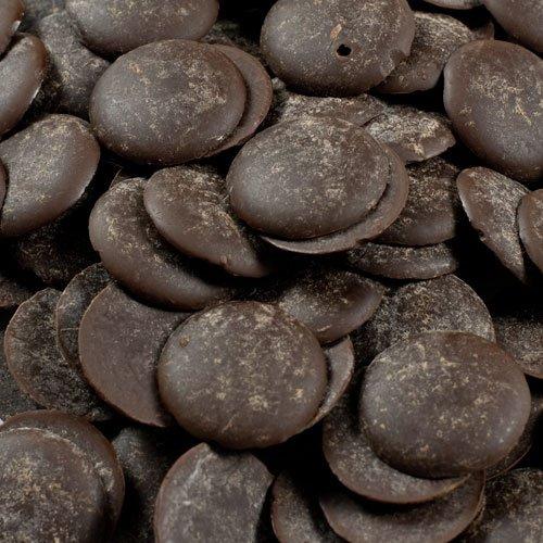Noel Dark Chocolate Pistoles - Semisweet 58.5%, Grand - 1 box - 11 lb by Noel