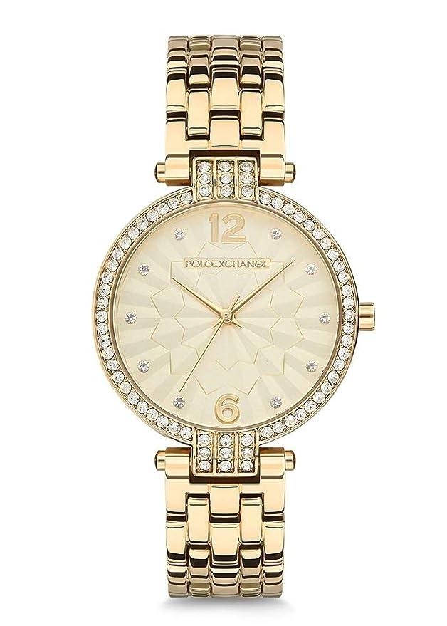 Polo Exchange PX0044-03 - Reloj de Pulsera para Mujer: Amazon.es ...