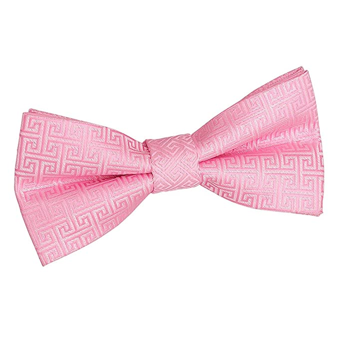 DQT Premium Woven Jacquard Swirl Wedding Pre-Tied Men/'s Boys Bow Tie