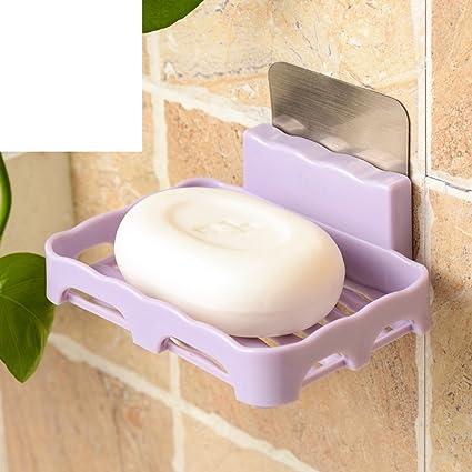 Punch-free portasapone, Scatola di sapone creativo parete, Bagno ...