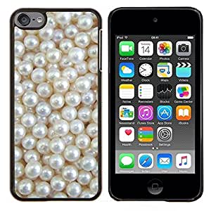 Stuss Case / Funda Carcasa protectora - Blanca Rich joya de la perla de la gema - Apple iPod Touch 6 6th Touch6