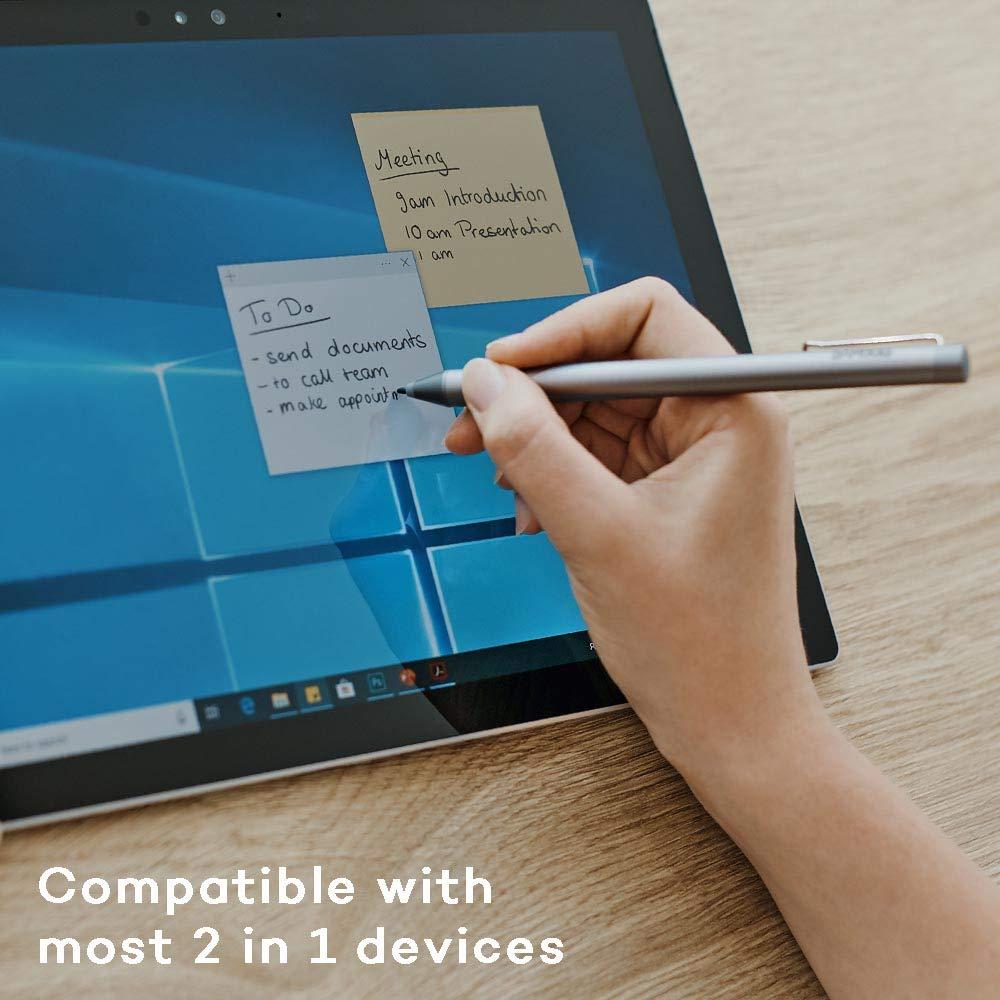 Wacom Bamboo Ink - Lápiz Digital, para una Escritura y redacción de Notas Natural en Dispositivos Aptos para lápices con Microsoft Windows 10 y ...
