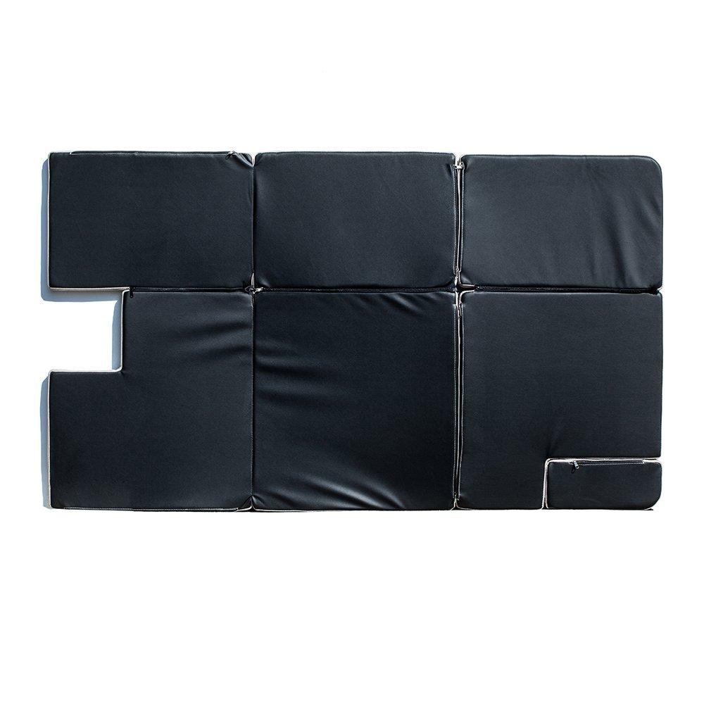 Xprite Browm Jeep Wrangler JKU 2007-2018 Sleeping Mattress Camping Pad Bed Platform, NitePad Sand Premium 1.5-inch Thick Portable Trunk Cushion by Xprite (Image #3)