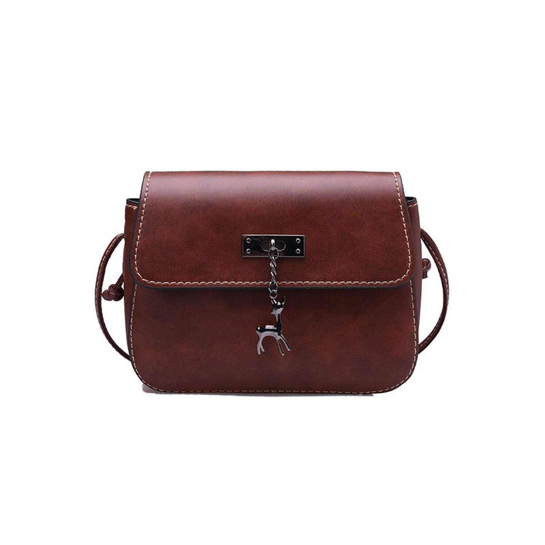 Cross Body Bag PU Leather Mini Fe Shoulder Shell Bag ...