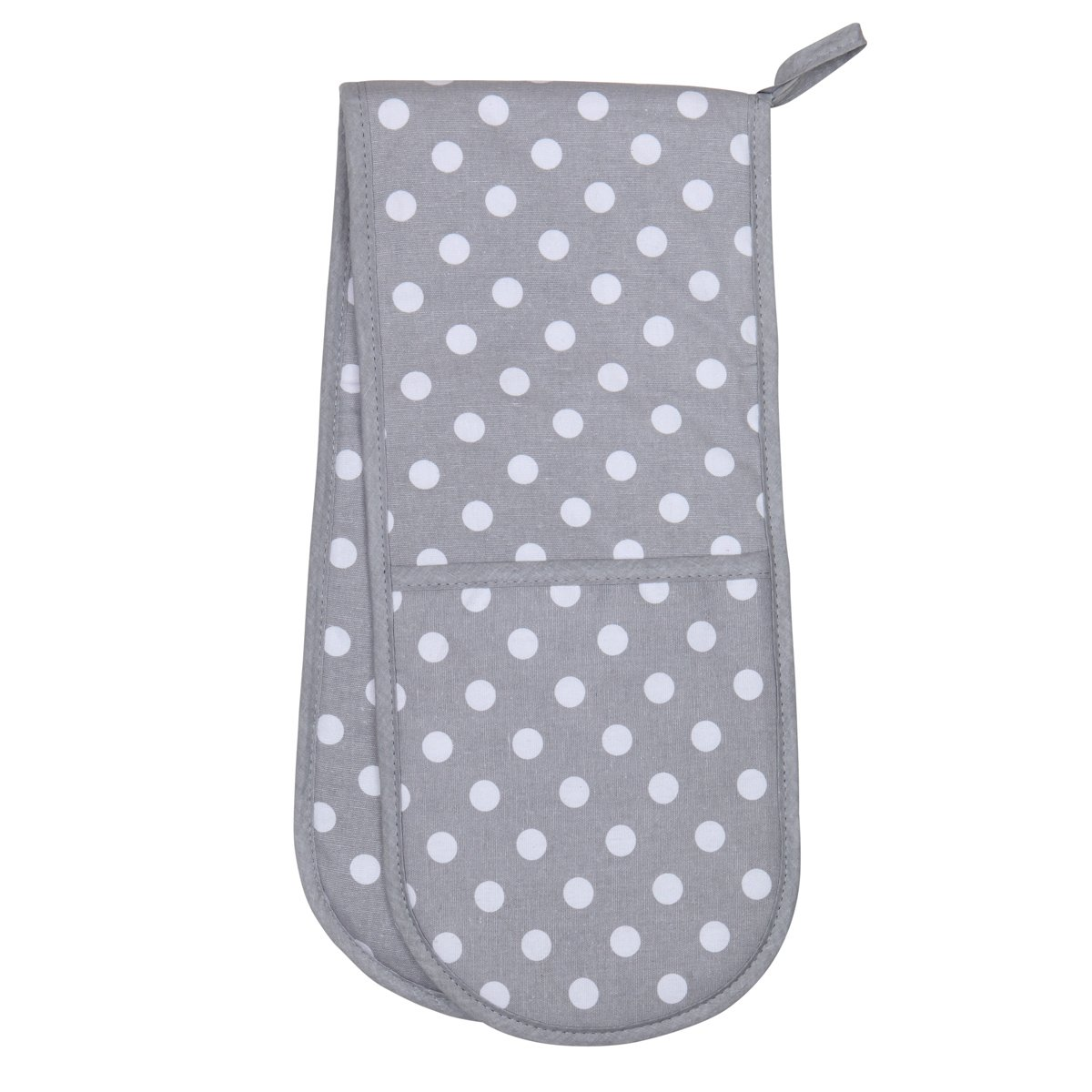 Dexam Flamenco Double Oven Glove, Dove Grey
