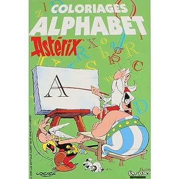 Livre De Coloriage Asterix Et Obelix L Alphabet 13x19cm