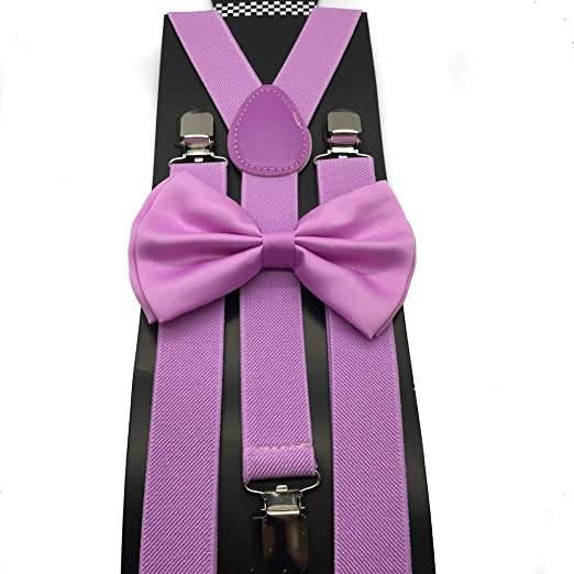 36ef7604eadf Image Unavailable. Image not available for. Color: Awesome Light Purple Wedding  Accessories Adjustable Bow ...